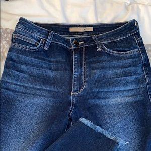 Joe's Jeans Jeans - Joe's Charlie High Waisted Frayed Step Hem Skinny